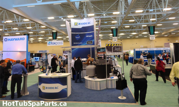2011 canadian pool and spa expo and conference for Pool and spa expo